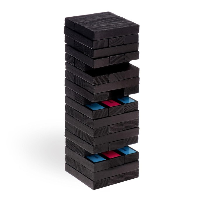 Падающая башня «Территория соблазна» с плёткой и фантами, 54 бруска