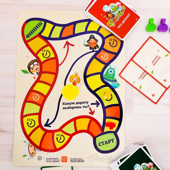 Настольная коммуникативная игра «Угадай-ка»