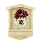 Розы в чайничке