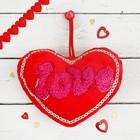 "Мягкая игрушка-присоска ""Сердце"", love"