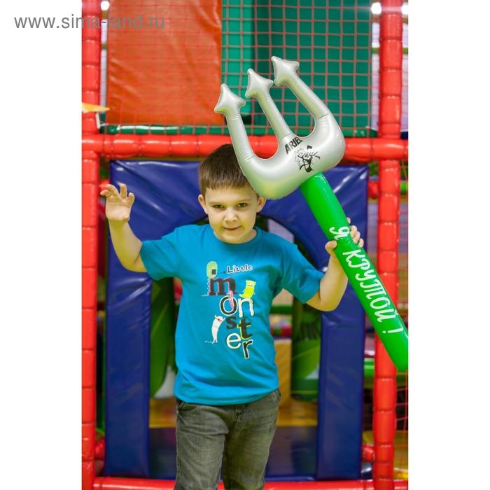 """Футболка детская Collorista """"Little monster"""", рост 122-128 см (34), 7-8 лет"""