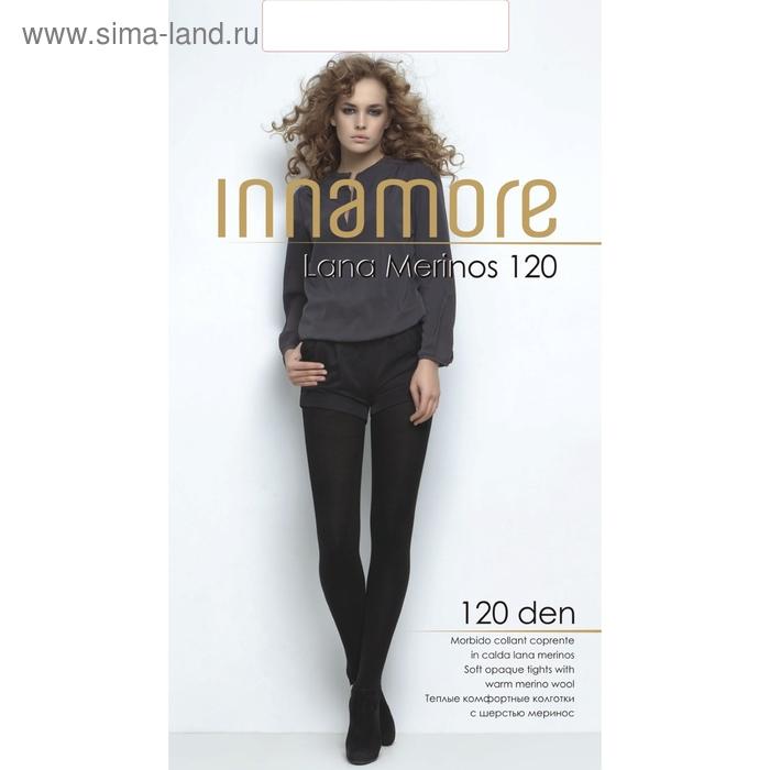 Колготки женские INNAMORE Lana Merinos 120 (nero, 4)