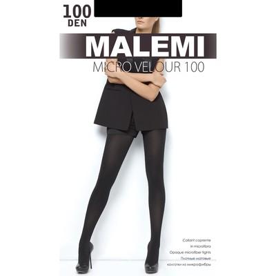 Колготки женские MALEMI Micro Velour 100 (nero, 3)