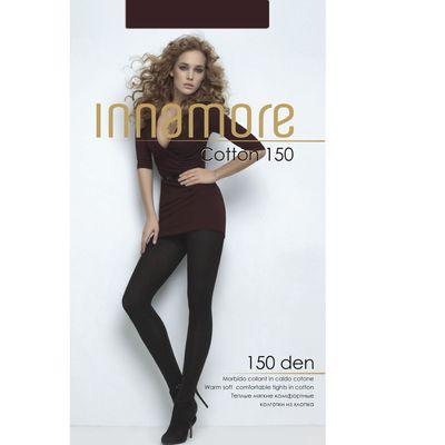 Колготки женские INNAMORE Cotton 150 цвет коричневый (moka), р-р 2
