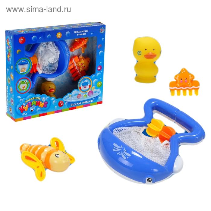 Игрушка для ванной «Весёлая рыбалка с Китёнком»
