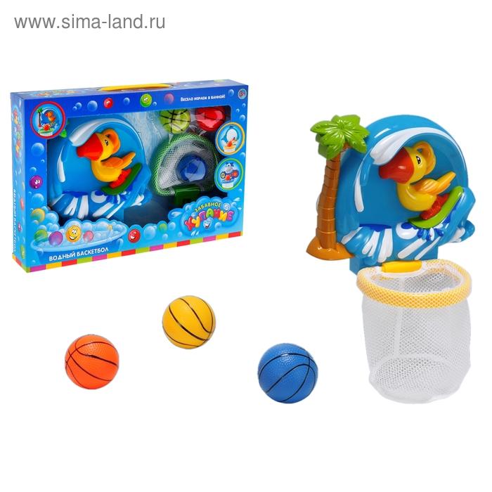 Игрушка для ванной «Водный баскетбол. Попугайчик»