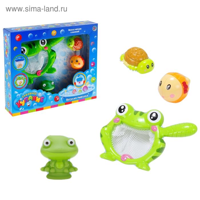 Игрушка для ванной «Весёлая рыбалка с Лягушонком»