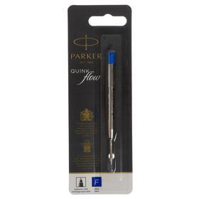 Стержень для шариковых ручек Parker QuinkFlow Premium, туба F, синие чернила
