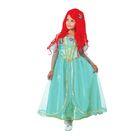Карнавальный костюм «Принцесса Ариэль», текстиль, размер 32, рост 122 см