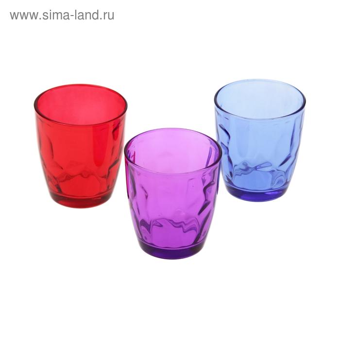 """Набор стаканов 260 мл """"Венский вальс. Весна"""", 3 шт."""