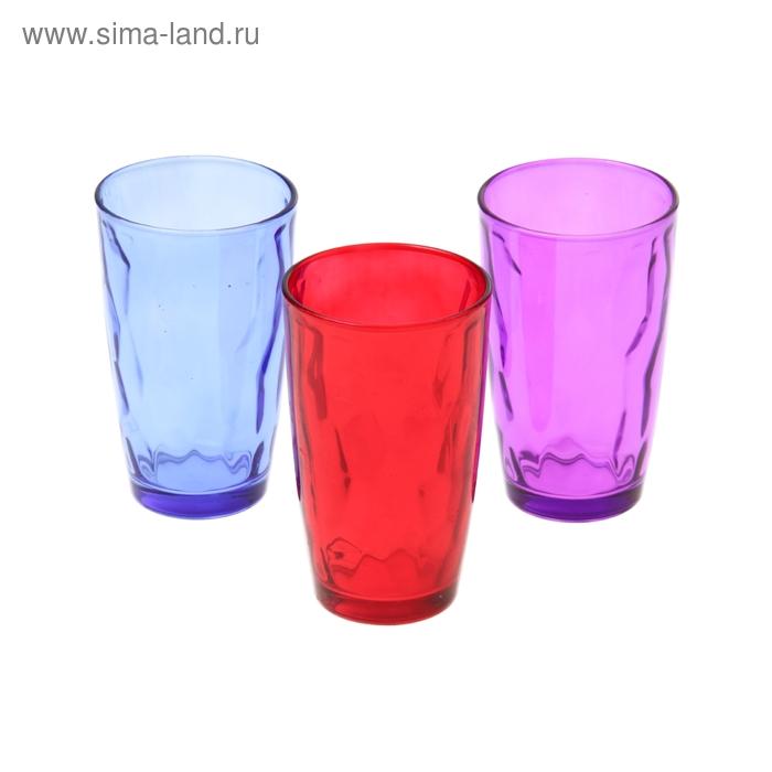 """Набор стаканов 340 мл """"Венский вальс. Весна"""", 3 шт."""