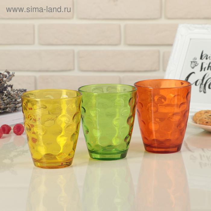 """Набор стаканов 400 мл """"Венский вальс. Осень"""", 3 шт."""