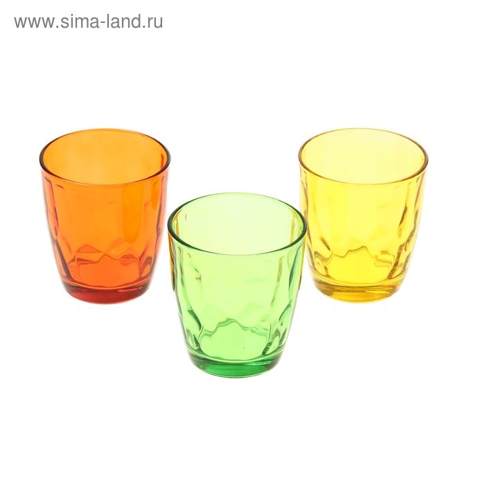 """Набор стаканов 260 мл """"Венский вальс. Осень"""", 3 шт."""