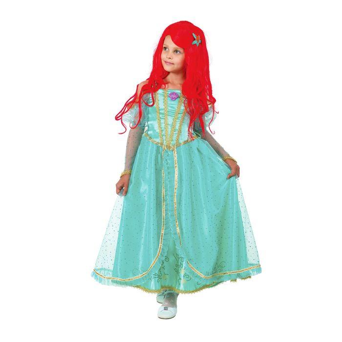 Карнавальный костюм «Принцесса Ариэль», текстиль, размер 34, рост 134 см