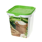 Контейнер пищевой 25 л, цвет зелёный