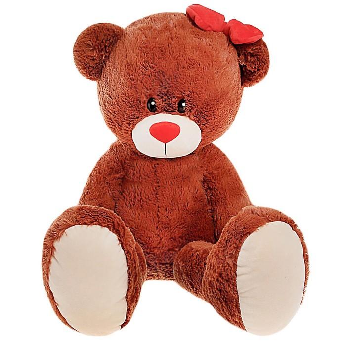 Мягкая игрушка «Мишка Лапа», цвет шоколадный, 103 см - фото 1582842
