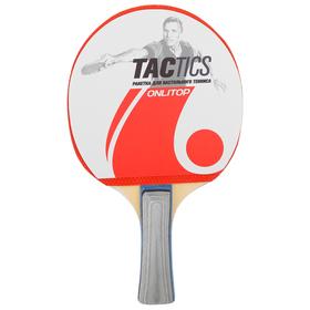 Ракетка для настольного тенниса TACTICS, цвета МИКС