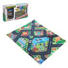 Игровой набор «Городская полиция», игровое поле (р-р 68 х 78 см) + 3 машины - фото 76289321