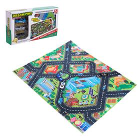 Игровой набор «Городская полиция», игровое поле (р-р 68 х 78 см) + 3 машины
