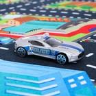 Игровой набор «Городская полиция», игровое поле (р-р 68 х 78 см) + 3 машины - фото 106534528