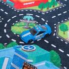Игровой набор «Городская полиция», игровое поле (р-р 68 х 78 см) + 3 машины - фото 106534529