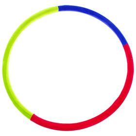 Обруч утяжелённый «Идеальный силуэт», d=100 см, 2,3 кг, цвета МИКС