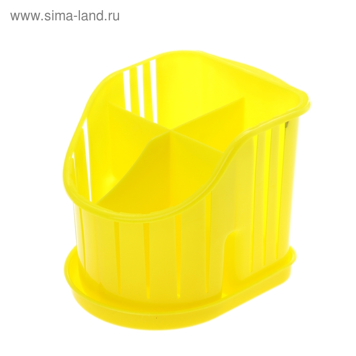 Подставка для столовых приборов, цвет МИКС
