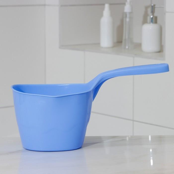 Ковш пластиковый 2 л, цвет МИКС
