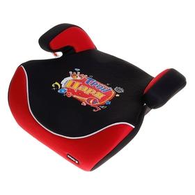 Бустер автомобильный «Трон царя», группа 2-3, цвет красный/чёрный