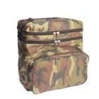 Ящик зимний оцинкованный двухсекционный ДМ, в сумке, 28 л