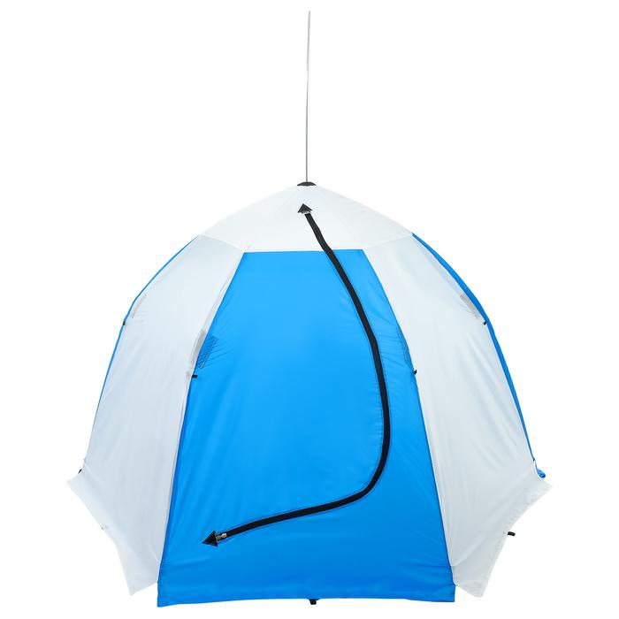 Палатка зимняя «СТЭК» 2-местная с дышащим верхом, алюминиевый крепёж