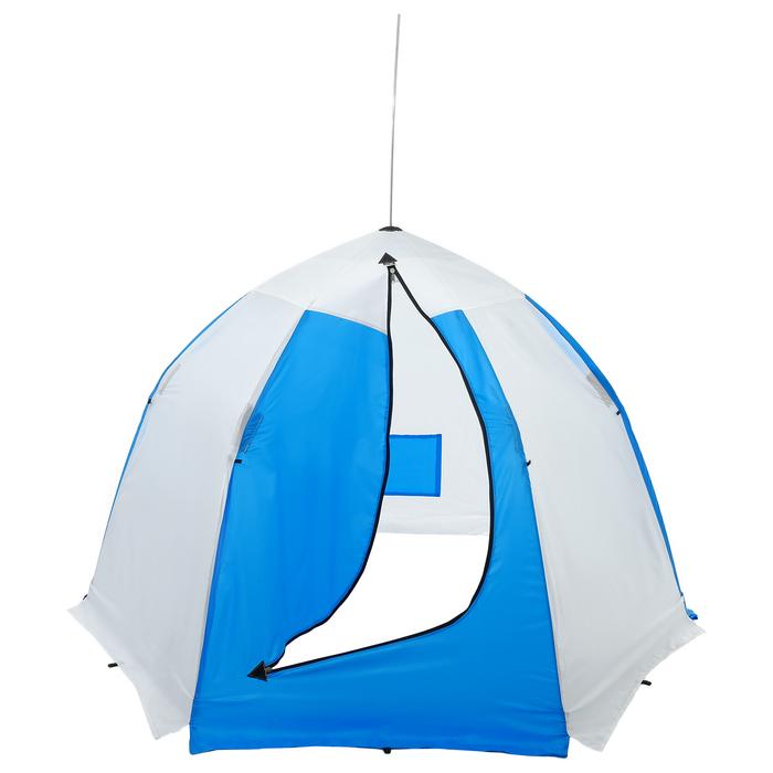 Палатка зимняя «СТЭК» 2-местная с дышащим верхом, алюминиевый крепёж - фото 36159