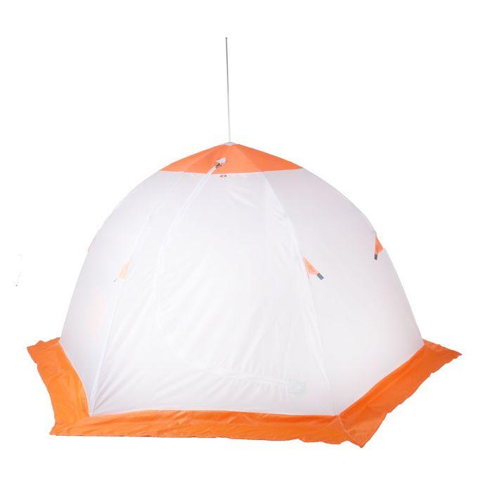 Палатка «Медведь» 3 местная, 6 лучей, оксфорд 210, верх брезент - фото 33888
