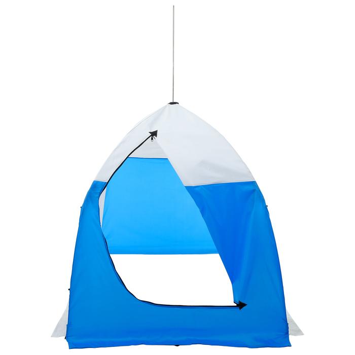 Палатка зимняя «СТЭК» 1-местная с дышащим верхом, алюминиевый крепёж - фото 35067