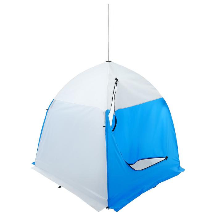 Палатка зимняя «СТЭК» 1-местная с дышащим верхом, алюминиевый крепёж - фото 35068