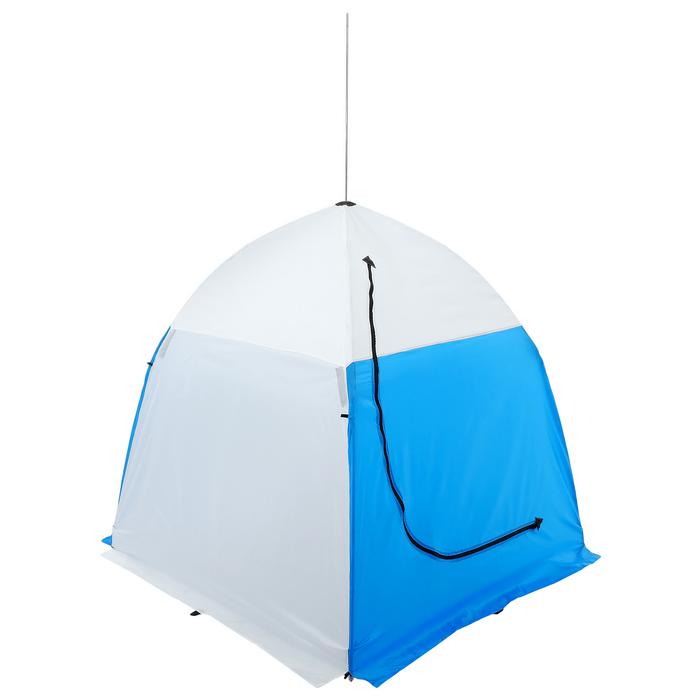 Палатка зимняя «СТЭК» 1-местная с дышащим верхом, алюминиевый крепёж - фото 35069
