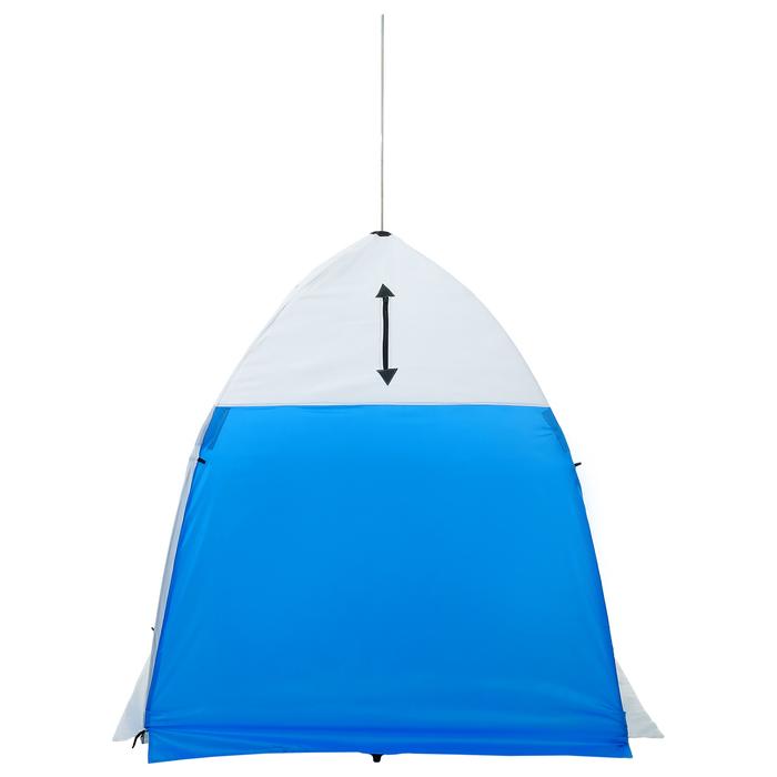 Палатка зимняя «СТЭК» 1-местная с дышащим верхом, алюминиевый крепёж - фото 35070