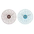 """Часы настенные интерьерные """"Объёмное плетение"""", d=33 см, микс"""