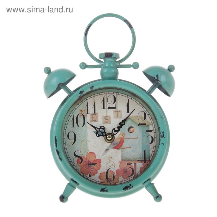 """Часы настольные """"Скворечник"""""""