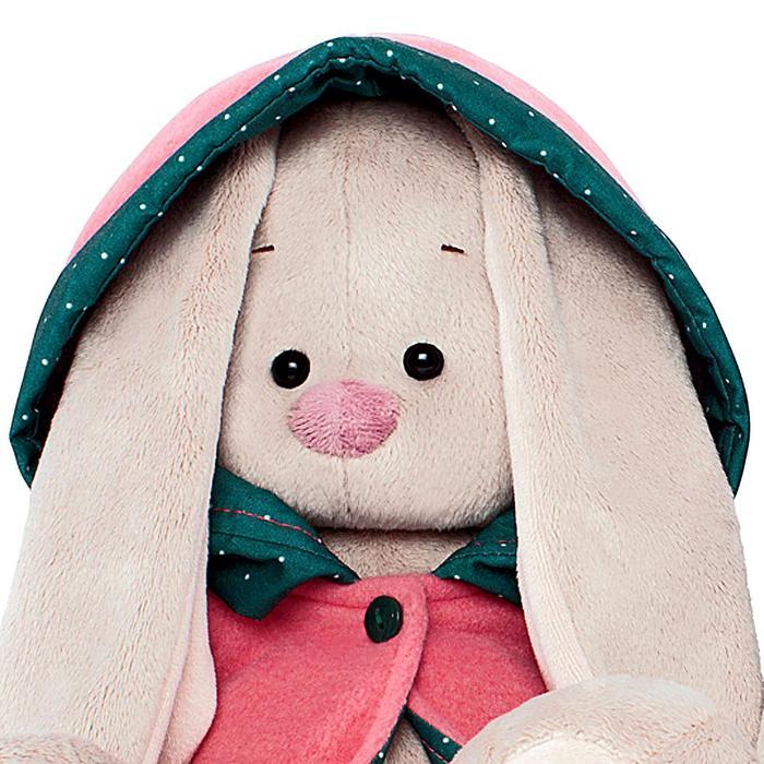 Мягкая игрушка «Зайка Ми» в куртке с капюшоном, большая, 23 см - фото 14418138
