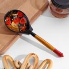 Ложка полубаская «Традиционная роспись», хохлома, микс