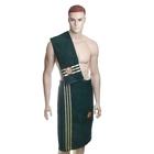 Комплект для сауны Rose мужской, цвет зеленый, махра, 480 гр/м
