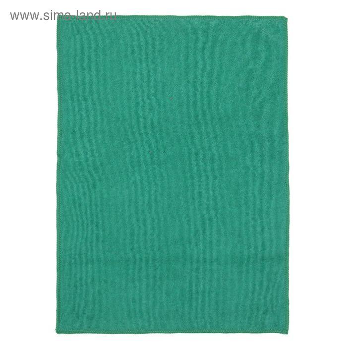 Салфетка для уборки мягкая, 30х40 см, цвет МИКС