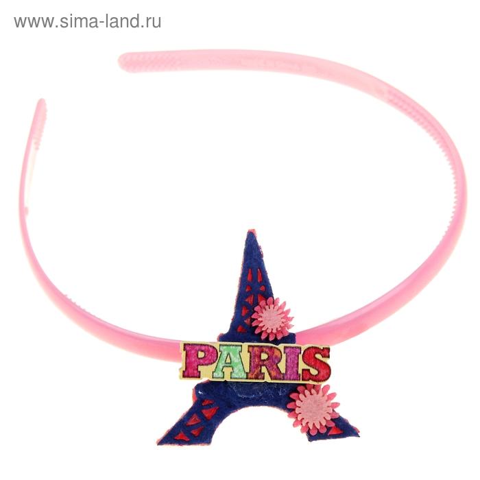 """Ободок детский """"Выбражулька - Париж"""""""