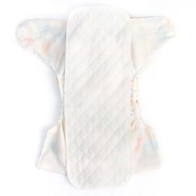 Вкладыш в многоразовый подгузник 3-х слойный, 40 см., Хлопок
