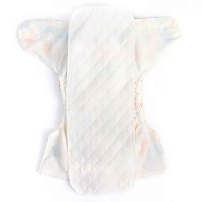 Вкладыш в многоразовый подгузник 3-х слойный, 40 см., Хлопок - фото 106534567