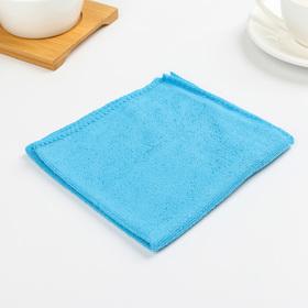 Салфетка из микрофибры, мягкая 30×30 см, 150 г/м2, цвет МИКС