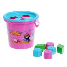 Развивающая игрушка с сортером 'Волшебное ведёрко', 8 элементов, цвета МИКС Ош