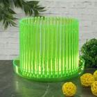 """Горшок для орхидеи """"Корона"""", цвет зеленый флер"""