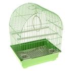 "Клетка для птиц ""Gold"" (полукруглая крыша), 30 х 23 х 39 см"